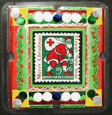 US, 1916 Essay Style, Santa Christmas Seal Magnet, Postal Correspondence, New