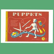 Postcard - Puppets - A Puffin Book Cover Postcard