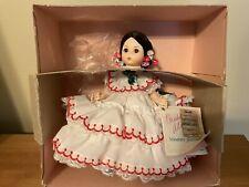 "1980s Madame Alexander Panama #555 In Original Box With Tag 8"""