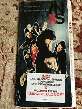 INXS Limited Edition CD Long Box FACTORY SEALED Collectors Edition