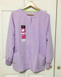 Scrubstar Active Warm-Up Jacket, Lilac Mist (M, L, XL or 2X)