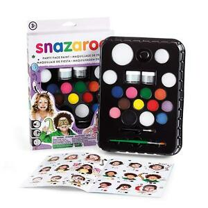 Snazaroo Ultimate Party Pack Face Painting Kit Face & Body Paint Fancy Dress New