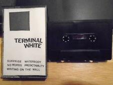 RARE PROMO Terminal White DEMO CASSETTE TAPE post punk Chicago UNRELEASED 1980s