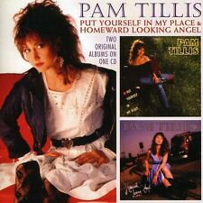 Pam Tillis - Put Yourself in My Place / Homeward Looking Angel [New CD]