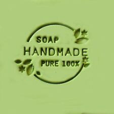 Pure 100% Soap Stamp For Handmade Soap Candle Candy Stamp Fimo Stamp