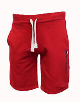 MENS PLAIN ELASTICATED SHORTS COTTON FLEECE SUMMER HOLIDAY CASUAL PANTS