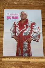 Ric Flair Red Robe nwa wcw wwf wwe wrestling magazine photo poster