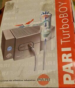 """PARI TurboBOY Typ 038 Inhaliergerät """"NEU"""" noch nie gebraucht."""