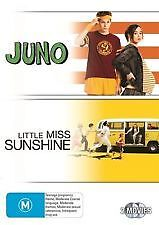 JUNO + LITTLE MISS SUNSHINE - BRAND NEW & SEALED 2-DISC DVD