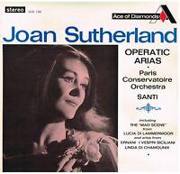 Joan Sutherland: Operatic Arias / Nello Santi, Paris Conservatoire Orchestra LP