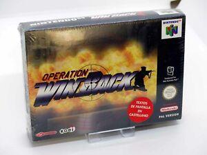 Nintendo 64 N64 - OPERATION WINBACK - PAL SEALED