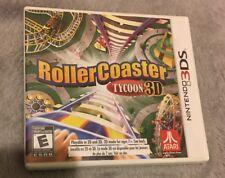 RollerCoaster Tycoon 3D (Nintendo 3DS, 2012)