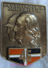 IN10977 - INSIGNE 46° Régiment d'Infanterie, Arthus Bertrand pour editions Atlas
