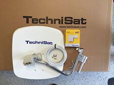 original TechniSat Digidish45 mit SCR - LNB (unicable) polarweiß neu