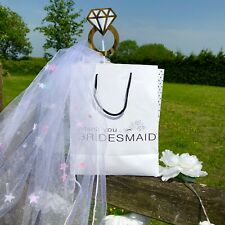 Bridesmaid goodie bags full of fun stuff for your night in or out.