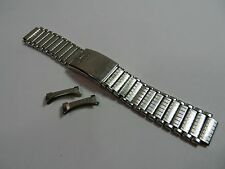 "Tissot Stainless Steel Vintage Bracelet Watch Wristwatch Band 18mm Wide 5.25"""