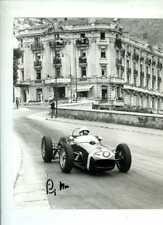 Stirling Moss Lotus 18 Winner Monaco Grand Prix 1961 Signed Photograph 4