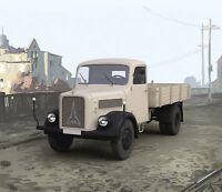 ICM 35452 - 1:35 Magirus S330 German Truck (1949 producti on)(100% new molds) -