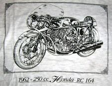 TEE SHIRT MOTO RC 164 350cc 1962 TAILLE L