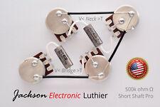 Les Paul Type Wiring Harness Bourns Pro 500k Short Shaft K40Y-9 .015 N .022 uF B