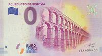BILLET 0  EURO ACUEDUCTO DE SEGOVIA  ESPAGNE  2017   NUMERO 4400