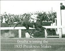"""1935 - OMAHA winning the Preakness Stakes - 10"""" x 8"""""""