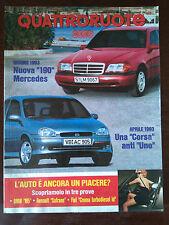 Quattroruote n 448 febbraio 1993 - BMW M5, Mitsubishi 3000GT, Renault Twingo
