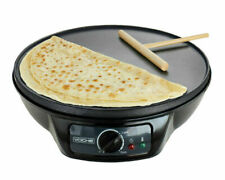 1000w Electric Pancake Crepe Maker With 12 Non Stick Hot Plate and Utens