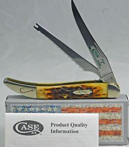 Fish & Game Hook Antique Jigged Bone Fishing Knife/Knives