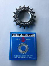 BICYCLE BIKE FREEWHEEL DICTA SINGLE SPEED 16TH 1/2 x 1/8 CHROME MTB ROAD
