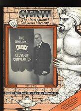 'Obie' O'Brien Genii Magicians Magazine Aug. 1986 - contents in post