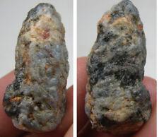 India 100% Natural Rough Corundum Blue Dogtooth Sapphire Crystal Specimen 35mm
