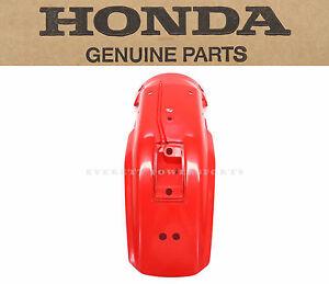 New OEM Rear Fender 1993-2020 XR650L Honda Mud Guard XR650     #C12
