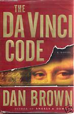 THE DA VINCI CODE Dan Brown 2003 1st Edition hardcover