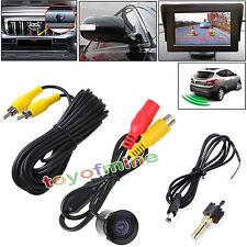 Waterproof Car Backup Camera Kits Parking Sensor Rear View 170°Color CMOS Mini