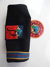 Trousse plumier en métal Tintin Lotus bleu  ETAT NEUF Matériel scolaire