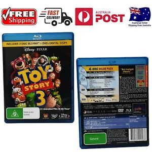 Toy Story 3 Blu-Ray Disc Includes Regular DVD And Special Features Disney Pixar
