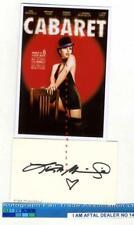 More details for liza minnelli vintage signed card aftal#145