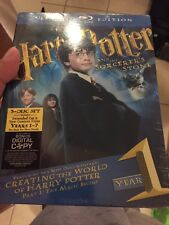 Harry Potter and the Sorcerer's Stone (Blu-ray Disc, 2009, 3-Disc Set, WS;...