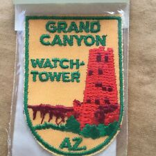 Vintage Grand Canyon Fabric Patch Sewing Embellishment Americana Patches