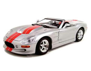 Shelby Series 1 New Ray City Cruiser Diecast 1:32 Scale Silver FREE SHIPPING