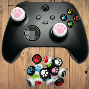 Cute Kitten Puppy Dog Cat Paws Analog Caps - For PS4, PS5, Xbox X S Thumb Grips