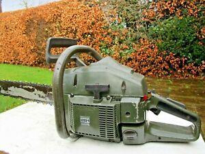 "Husqvarna 181SE chainsaw 20"" guidebar ex British Army new chain"