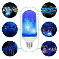 E27 LED Flicker Flame Light Bulb Simulated Burning Fire Effect Party Night Lamp
