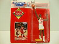 Starting Lineup Hakeem Olajuwon Houston Rockets 1995 Kenner Figure New