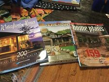 Waterfront, Homeplans and Homeplans For Outdoor Living. 3 Magazines.