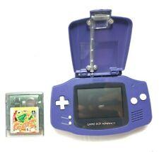 Nintendo Gameboy Advance Indigo / Purple w/ light - tested