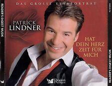 PATRICK LINDNER : HAT DEIN HERZ ZEIT FÜR MICH / 3 CD-SET - TOP-ZUSTAND