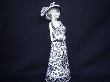 Day of the Dead hand made Talavera, Mexican art Catrina figurine, Gerardo Garcia