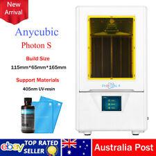 ANYCUBIC Photon-S UV Matrix 3D Printer Light Cure Fast Slicing 500ML Rigid Resin